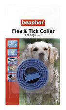 Beaphar Flea & Tick Collar For Dogs Plastic Collar Blue - Valentina Valentti UK