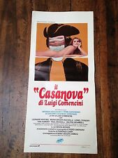 Infanzia, Vocazione... Di Giacomo Casanova locandina poster Luigi Comencini