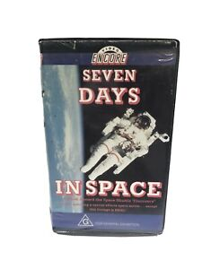 Seven Days In Space Clamshell VHS Ex Rental Documentary Discovery Shuttle NASA