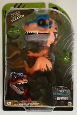 New Untamed Scratch T-Rex Raptor Dinosaur Orange WowWee Fingerlings Toy