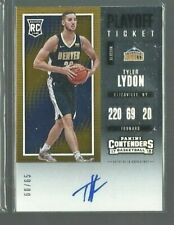 2017-18 Panini Contenders Playoff Ticket #124A Tyler Lydon AU 60/65 (ref 64661)