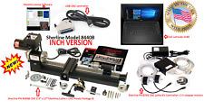 "SHERLINE 8440B 3.5″ x 17″ Lathe CNC System + Package ""B"" + Controller + Laptop"