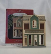 GROCERY STORE Hallmark Nostalgic Houses and Shops Series with Box and Price #15