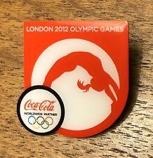 London 2012 Olympic Games Coca Cola Coke Worldwide Partner Sponser Pin Badge
