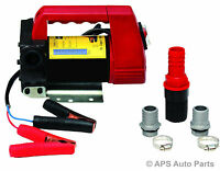 Diesel Transfer Pump 12 Volt DC Portable Fuel Self Priming Oil Kerosene 45L New