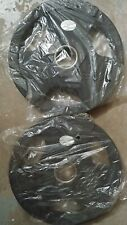 NEW 2 x 25lb Rubber Coated Olympic Grip Weights - Total 50lb - FREE SHIPPING!!!