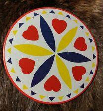 "Vintage Original 60s 8"" Hex Love Sign Rosette Circle Pennsylvania Dutch"