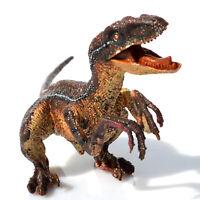 Green Velociraptor Raptor Dinosaur Toy Action Figure Educational Model Kids Gift