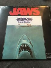 JOHN WILLIAMS - JAWS OST - NEW AND SEALED VINYL LP