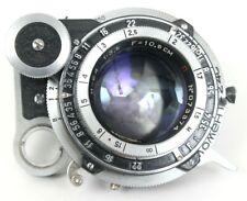 INDUSTAR 24 3.5/105 Russian USSR Lens Red P Moskva 5 Camera