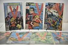 Lot of 7 V The Visitors Are Our Friends #1-6,8 DC 1985