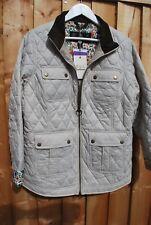Barbour® Cream Quilt Rachel Liberty Jacket size uk 12