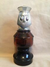 Vintage old glass Avon Decanter Chess Piece The King Wild Country after shave