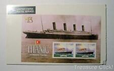 Australia 99 Titanic Overprint Souvenir Sheet Sealed In Plastic