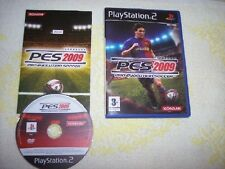 PRO EVOLUTION SOCCER 2009, SONY PLAYSTATION 2/PS2/PLAY 2