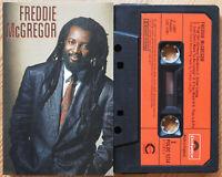FREDDIE McGREGOR - FREDDIE McGREGOR (POLYDOR POLDC5214) 1987 UK CASSETTE TAPE EX