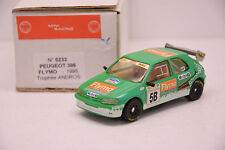 PEUGEOT 306 FLYMO TROPHÉE ANDROS 1995 MINI RACING 1/43 NEUVE BOITE MONTAGE USINE
