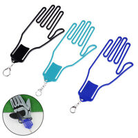 1X Plastic Golf Gloves Keeper Stretcher Gloves Support Frame Rack Hol IO