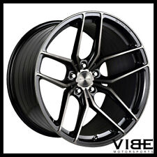 "21"" STANCE SF03 BLACK CONCAVE WHEELS RIMS FITS CHEVROLET CAMARO LS LT SS"