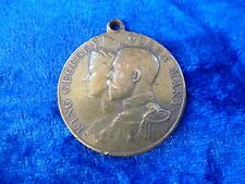 George V Coronation Medal 1911 Struck By Elect Cocoa Good Fine