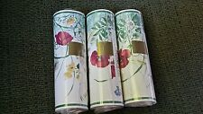 """FINE DECOR READY PASTED VINYL BOARDER  WALLPAPER - FLORAL 5.5 Yards each  5 1/4"""""""