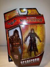 """DC Scarecrow 4"""" Action Figure 2014 Mattel MOC Batman Villain Multiverse Arkham"""