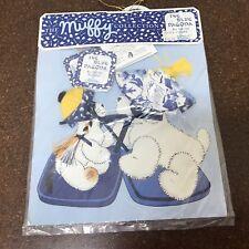 Muffy Vanderbear Collection The Blue Pagoda Lulu & Purrlie Hats NIP