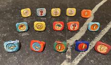 Kelloggs Cereal Premiums ~ Tom Corbett Space Cadet Rings ~ Lot of 15 ~ 1951