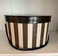Vintage Collectible Bullocks Wilshire Hat Box 1950's