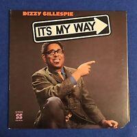 DIZZY GILLESPIE It's My Way 1969 US vinyl LP
