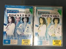 Strong Medicine Season 1 ex-rental region 4 DVD (5 discs) drama series * RARE *