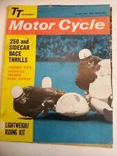 Vintage Motor Cycle TT Number 7/06/1962