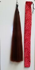 """TAIL EXTENSION 1/2 Pound Dark Sorrel False Horse Tail NEW 36"""" by KATHY'S TAILS"""