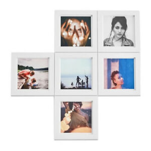 Magnaframe Classic 4x4 Square Magnetic Photo Frame (6-Pack/White)