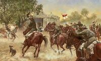"""""""The Last Charge"""" Don Stivers Limited Edition Giclee Print - US Cavalry"""