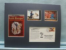 TV Western Heroes - The Lone Ranger & Tonto  & Clayton Moore Memorial cover