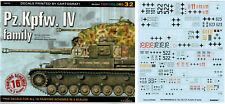 Pz.Kpfw. IV family (decals) - TOPCOLORS,  KAGERO (English!) Rare!