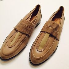 SILENT DAMIR DOMA Womens Flat Oxford Shiner Shoes Size 38/8