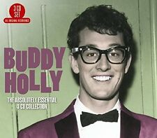 Absolutely Essential - 3 DISC SET - Buddy Holly (2016, CD NEUF)