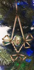 Vintage Ornament Rare Antique Christmas Tree Decoration Beads and Tubes Glass