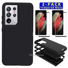 Para Samsung Galaxy S21/S21+/S21 Resistente Blindaje de caso Ultra 5G/Protector De Pantalla