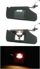08 09 10 Dodge AVENGER Passenger Sun Visor With Illumination Black TESTED