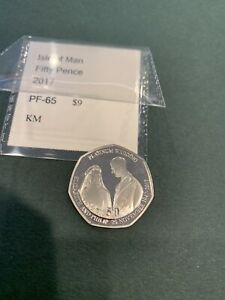 Isle Of Man 50 Pence Wedding 1 Proof