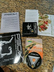 P90X Extreme Home Fitness Workouts Complete 13 DVD Set w/ Booklets and Nutrition