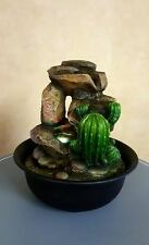 Amazonia Cactus Water Fountain with Colour Change LED Light  240v Mains