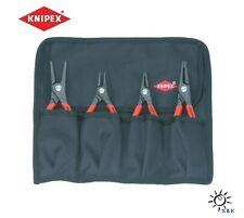 KNIPEX Sicherungsringzangensatz 4tlg. in Rolltasche # 00 19 57
