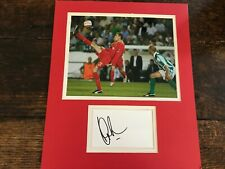 Peter Crouch, Southampton, Liverpool,Spurs, Stoke signed  photo & signature