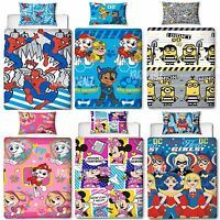 Official Licensed Character Single Duvet Cover Bed Set Disney Marvel 2017 Design
