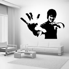 Bruce Lee Karate Star Vinyl Decal Wall Stickers Handicrafts Family Mural Diy