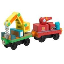 Chuggington Wooden Railway Rescue Cars 56016 Retired Learning Curve